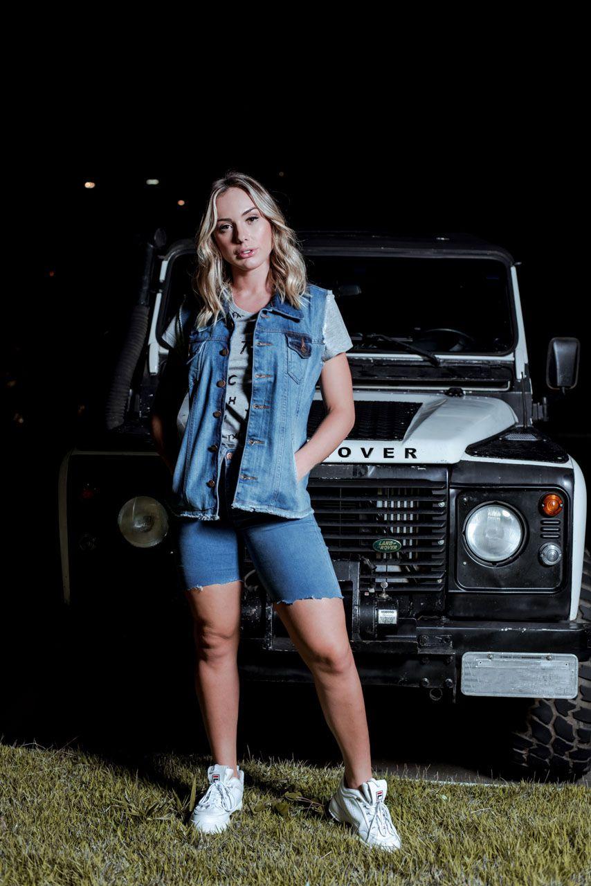 Colete Jeans Feminino TXC 5028