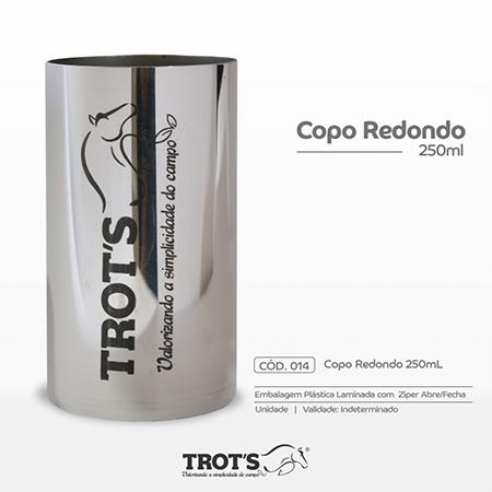 Copo Inox Trot´s Redondo