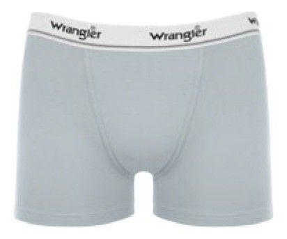 Cueca Boxer Wrangler Cinza WMUW002