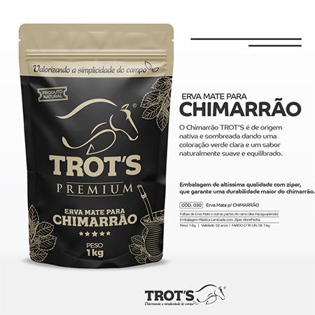 Erva Chimarrão Trot´s 1KG