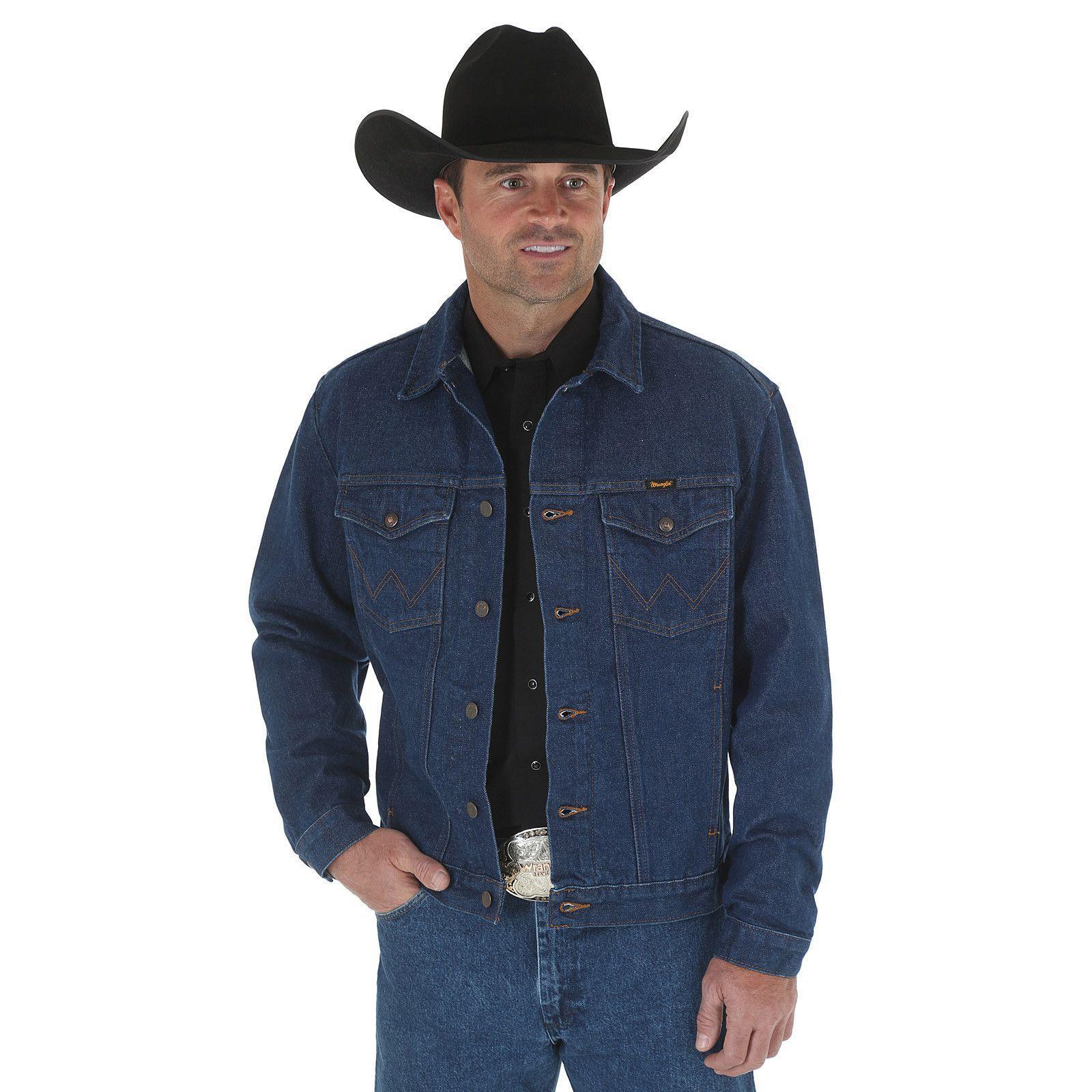 Jaqueta Jeans Masculina Wrangler Wester 9923DPW50  85a17526a7e