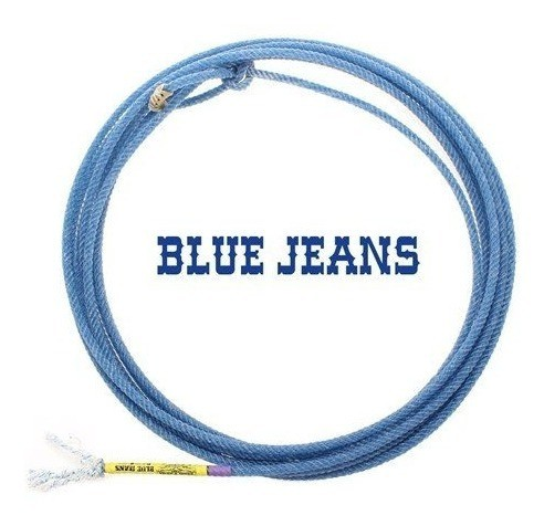 Laço Precision Ropes 4 Tentos Blue Jeans M35 Pé
