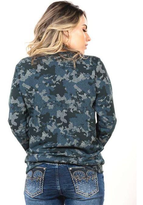 Moletom Feminino Military Miss Country