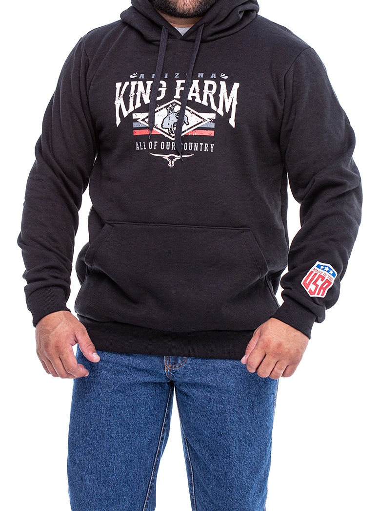 Moletom Masculino King Farm KFM211