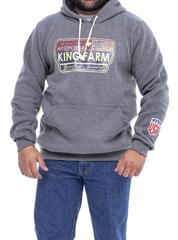 Moletom Masculino king Farm KFM218