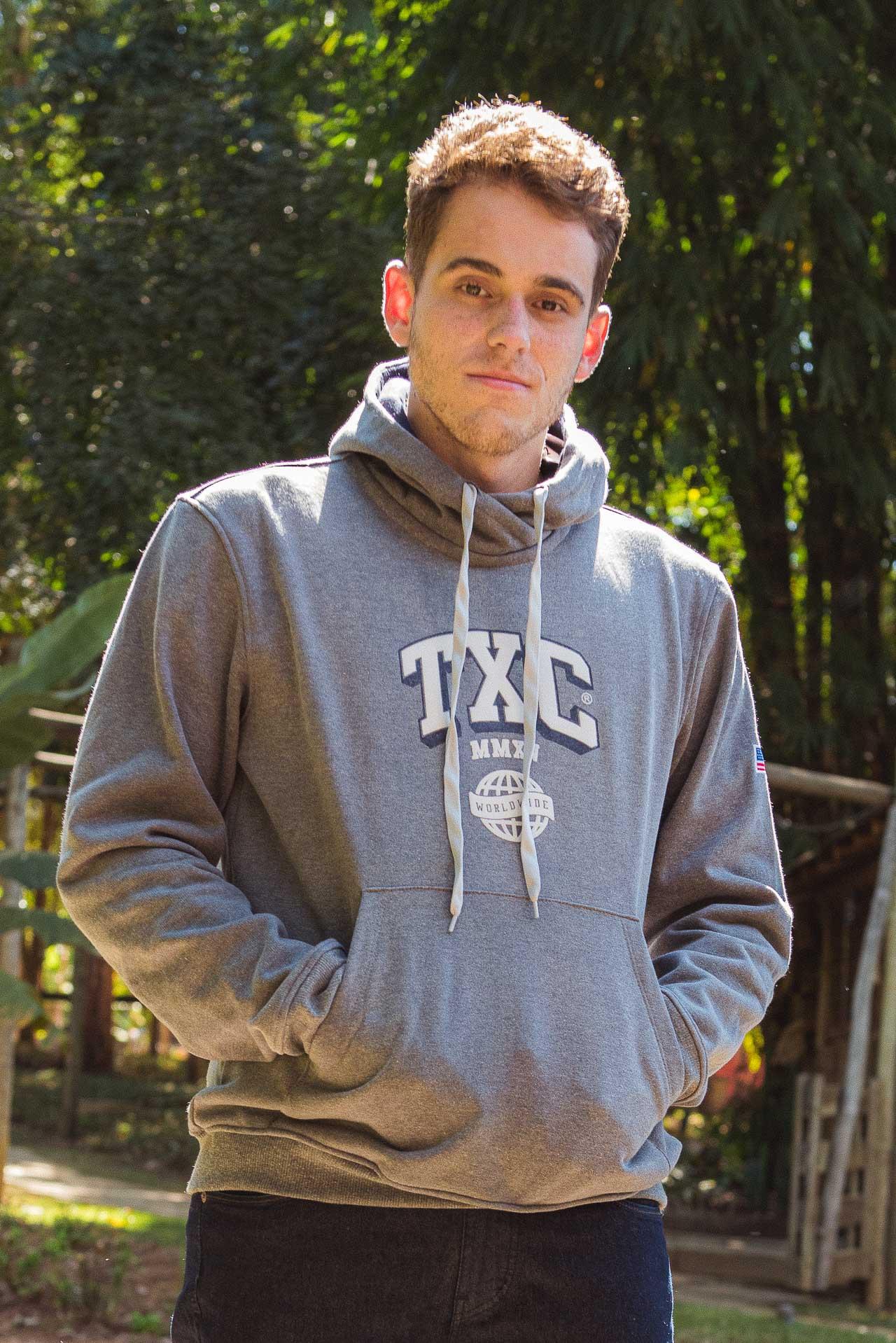Moletom Masculino TXC Brand Mescla 3204