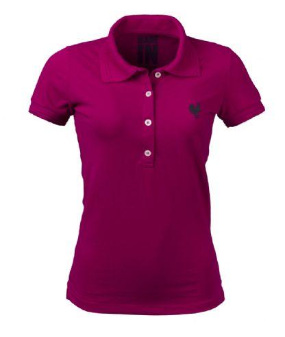 Polo Feminina Made In Mato Pink 2056