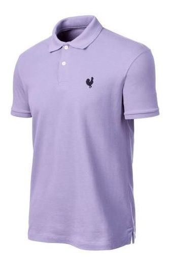 Polo Masculina Made In Mato Lilás P2084