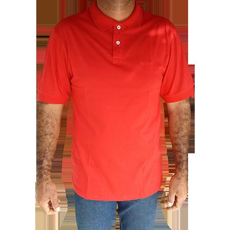 Polo Masculina Wrangler Vermelha WM9010