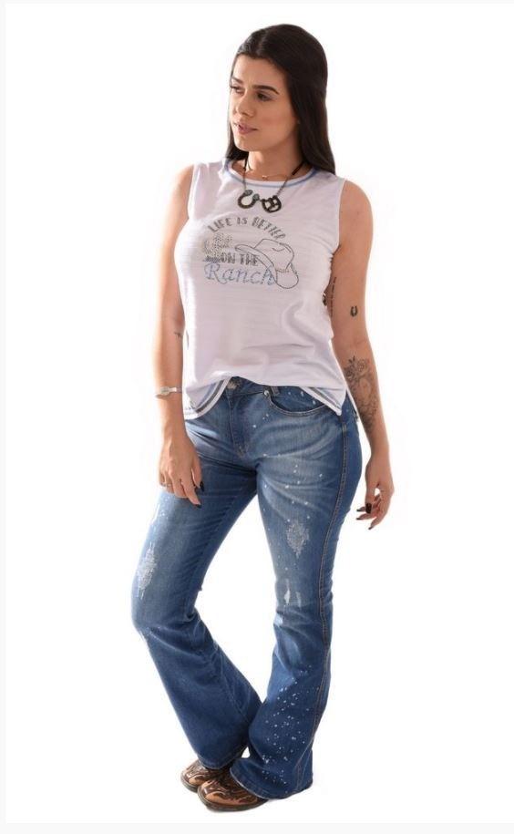 Regata Feminina Miss Country Life