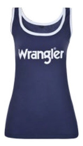 Regata Feminina Wrangler Azul Marinho WF8100
