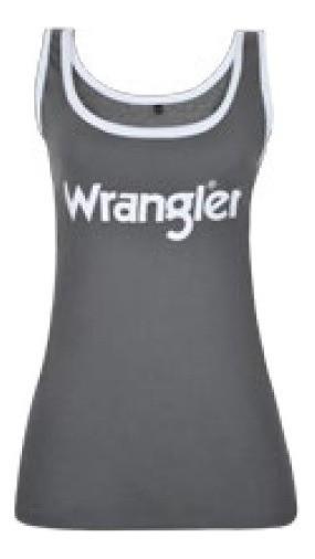 Regata Feminina Wrangler Chumbo WF8100