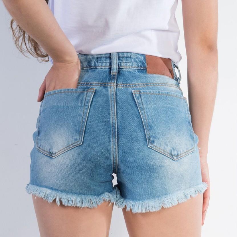 Short Jeans Feminino USED TXC Brand