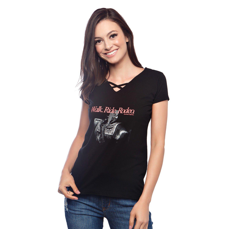 T-Shirt Feminina Escaramuça Abreu