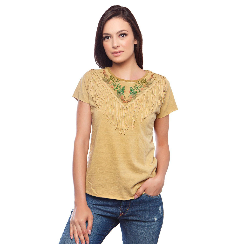 T-Shirt Feminina Escaramuça Acari