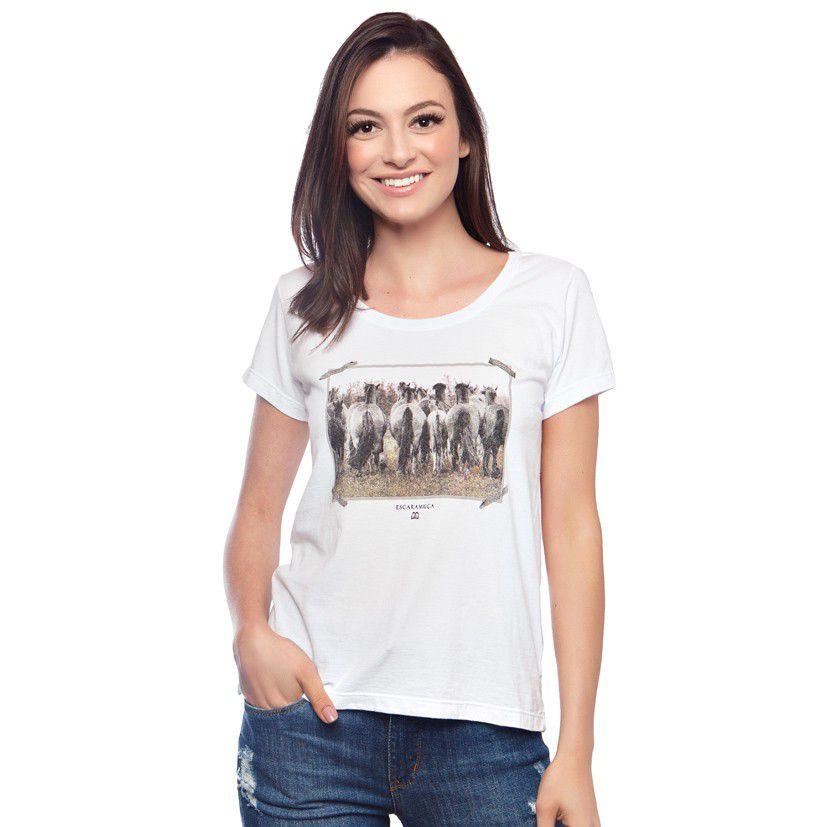T-Shirt Feminina Escaramuça Alecrim