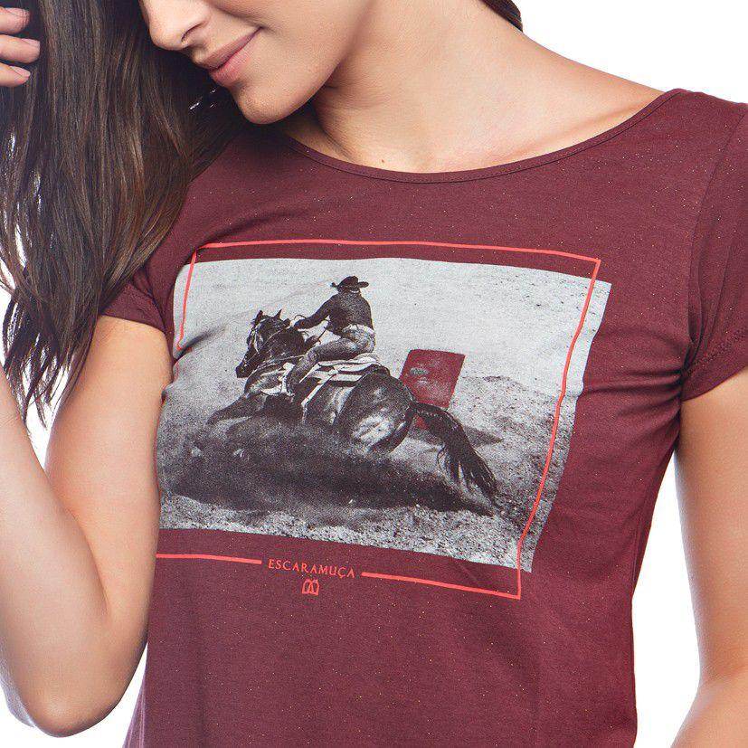 T-Shirt Feminina Escaramuça Aurora