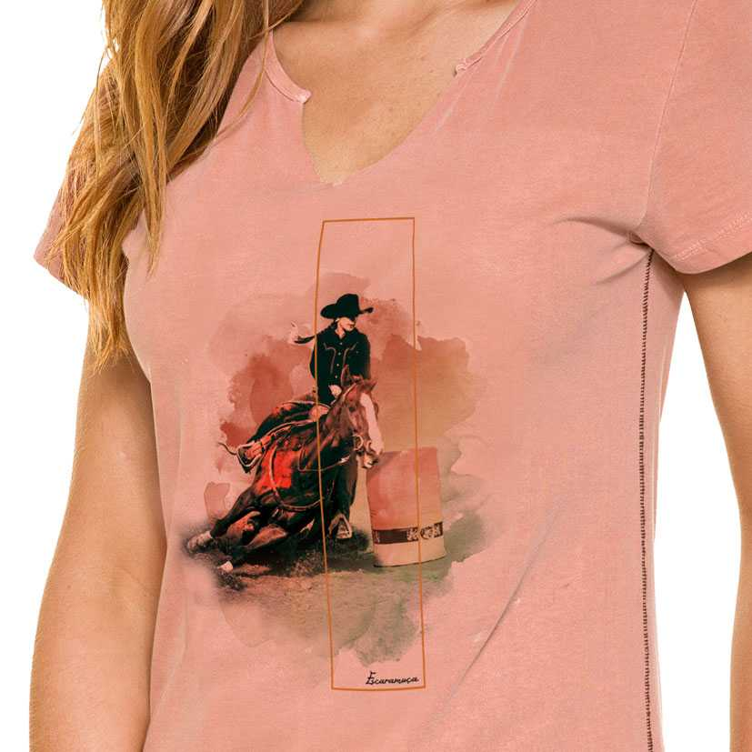 T-Shirt Feminina Escaramuça Leiria