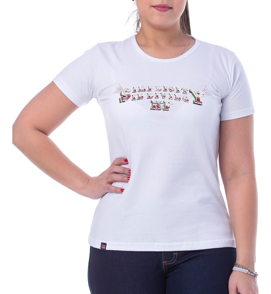 T-Shirt Feminina King Farm GCF12