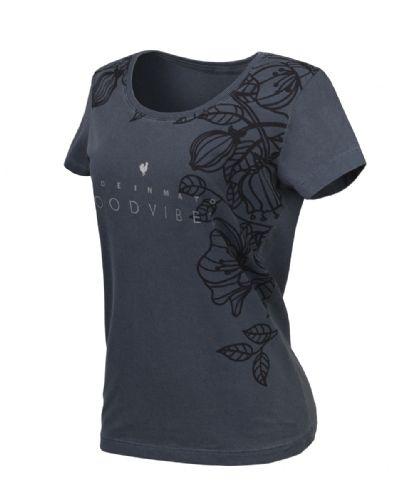 T-shirt Feminina Made In Mato Cinza F4067