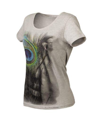 T-shirt Feminina Made In Mato Mescla F4074