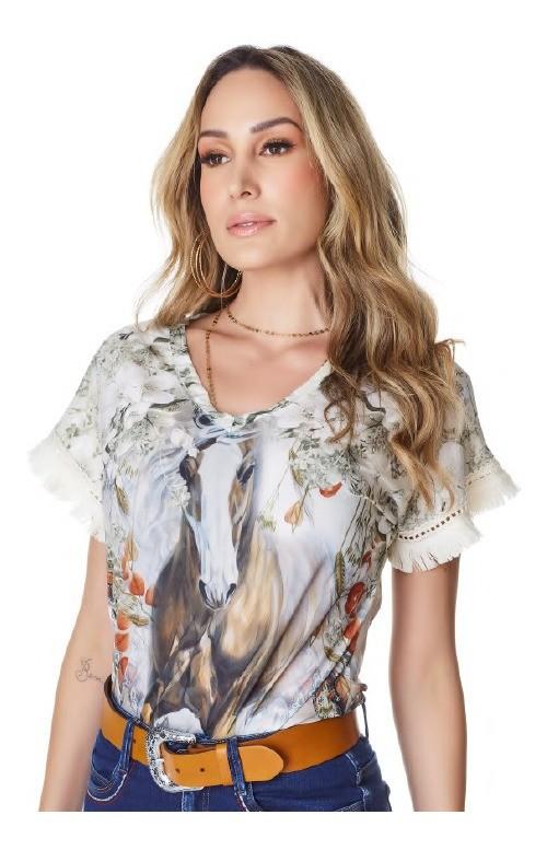 T-Shirt Feminina Minuty Country 720