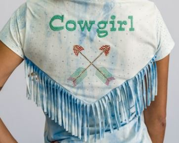 T-Shirt Feminina Miss Country Ametista