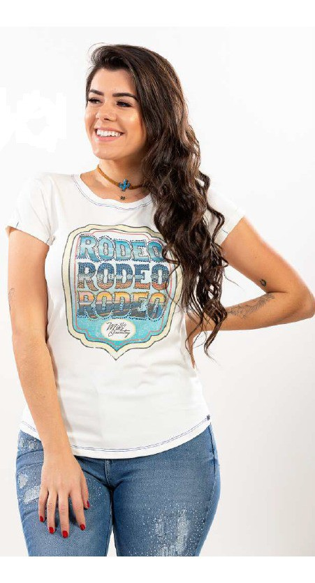 T-Shirt Feminina Miss Country Colorado