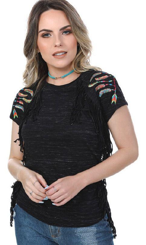 T-Shirt Feminina Miss Country Joy 276
