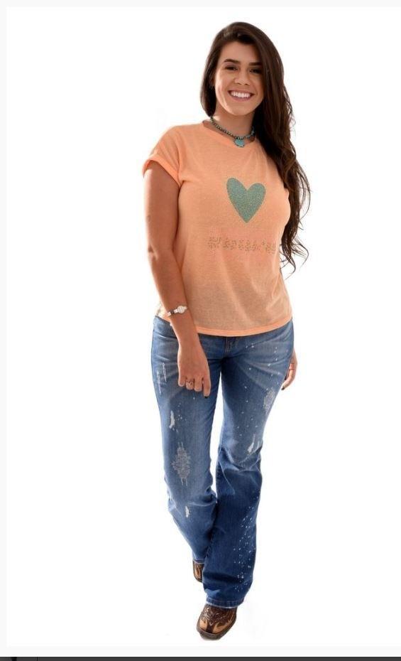 T-Shirt Feminina Miss Country Rodeo