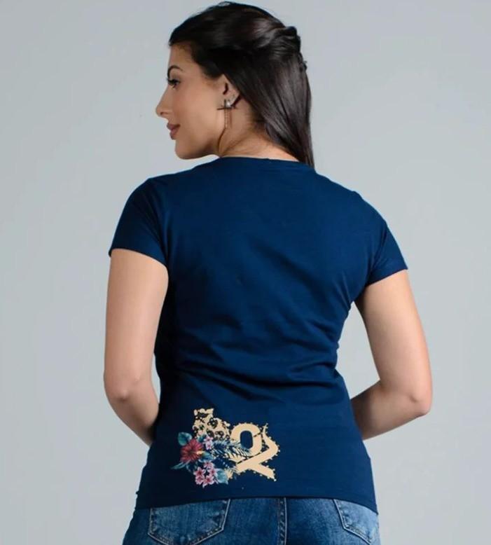 T-Shirt Feminina Ox Horns 6143