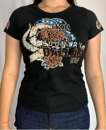T-Shirt Feminina OX Horns 6163