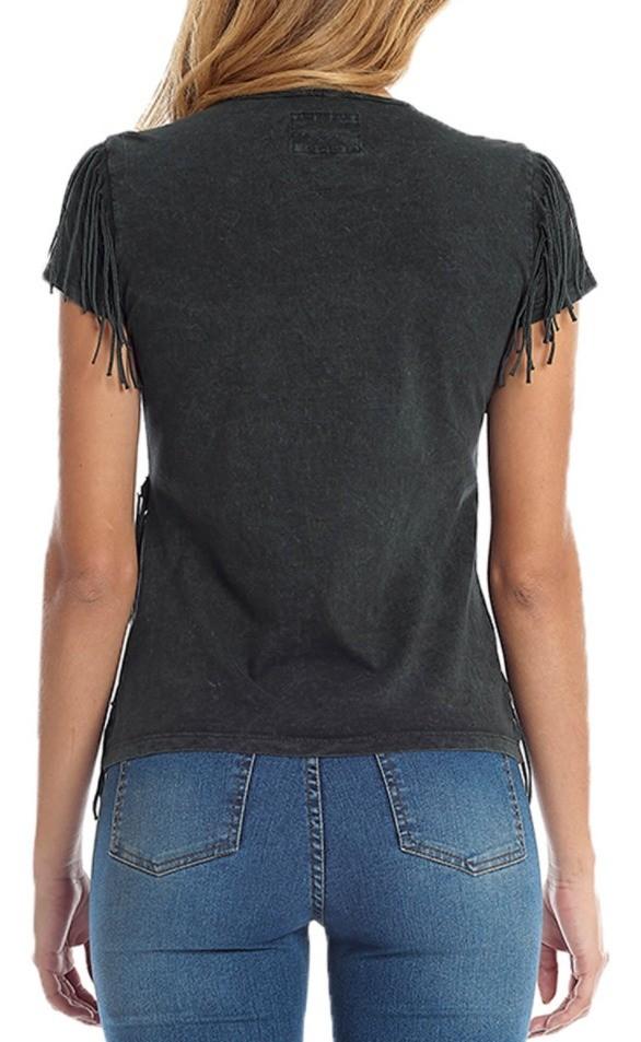 T-Shirt Feminina Tassa Clássica Verde 4461