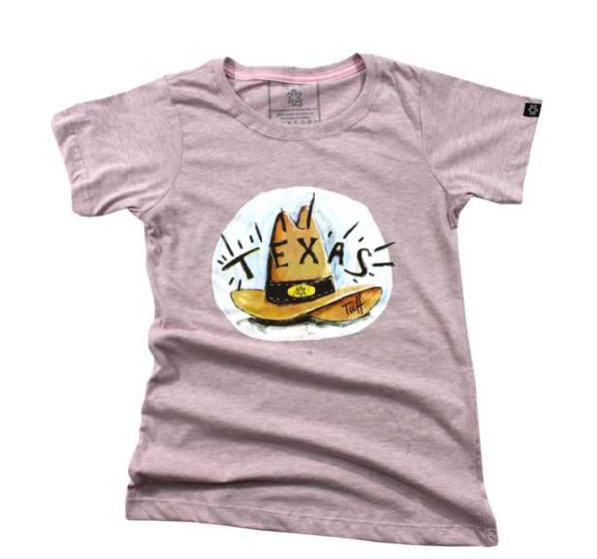 T-Shirt Feminina Tuff Texas Hat 1282