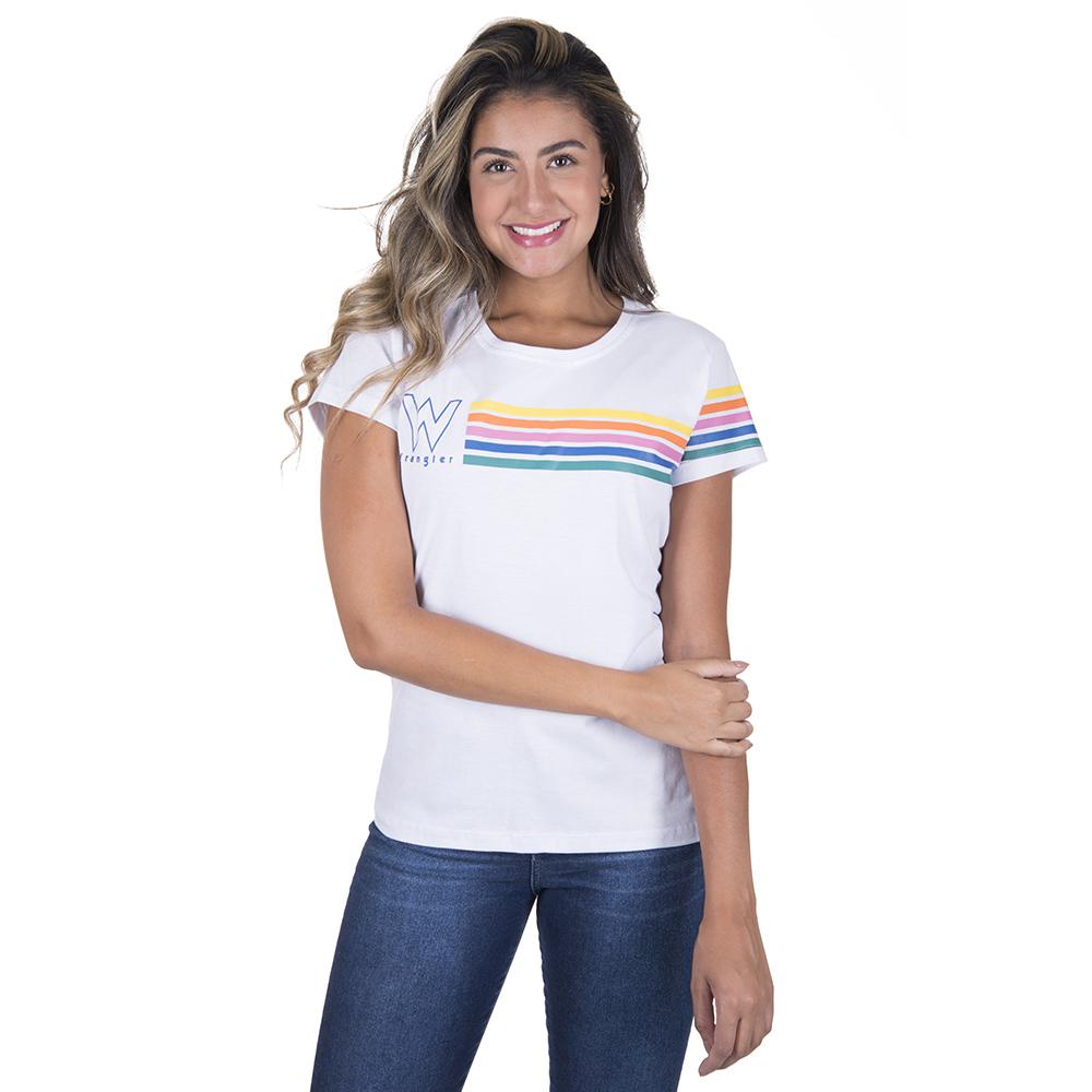 T-Shirt Feminina Wrangler WF8033