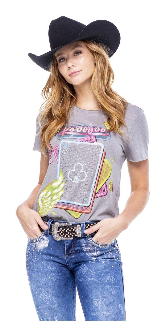 T-Shirt Feminina Zenz Western Fremont ZW0121039