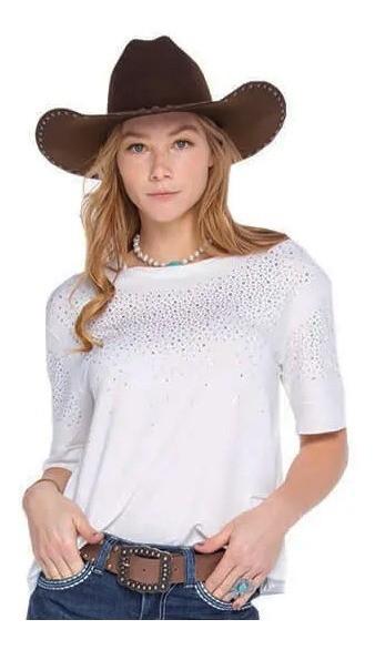 T-Shirt Feminina Zenz Western Sky ZW0320032