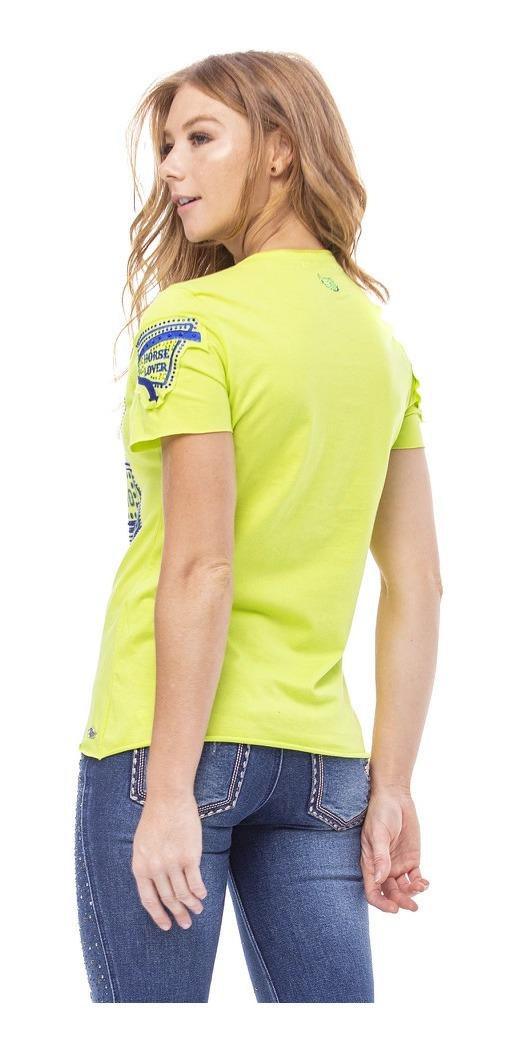 T-Shirt Feminina Zenz Western Vegas Vic ZW0121036