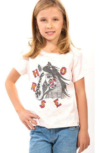 T-Shirt Infantil Colors Miss Country