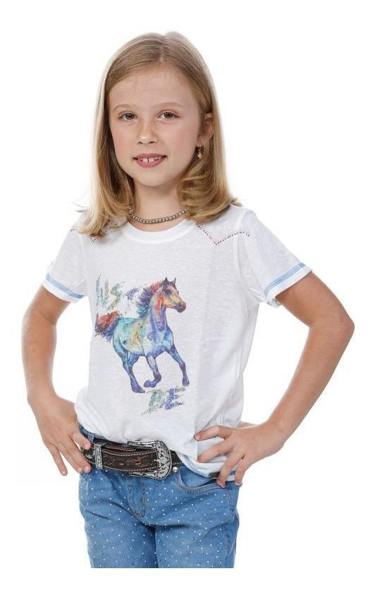 T-Shirt Infantil Miss Country Just Be 292