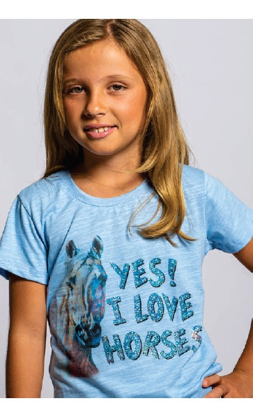 T-Shirt Infantil Miss Country Vida