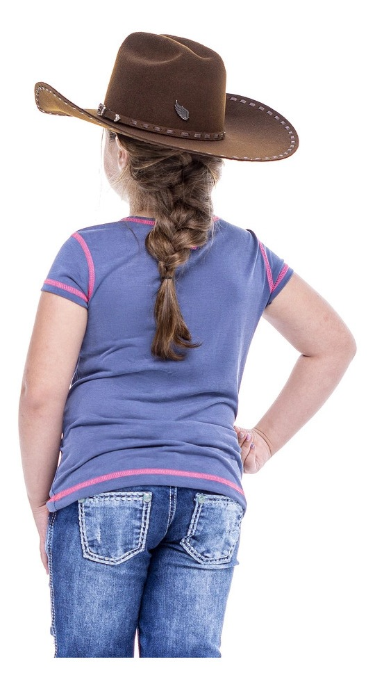 T-Shirt Infantil Zenz Western Kids Neon ZW0121058