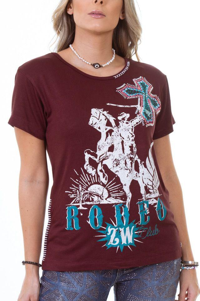 T-Shirt Zenz Western Free ZW0220005