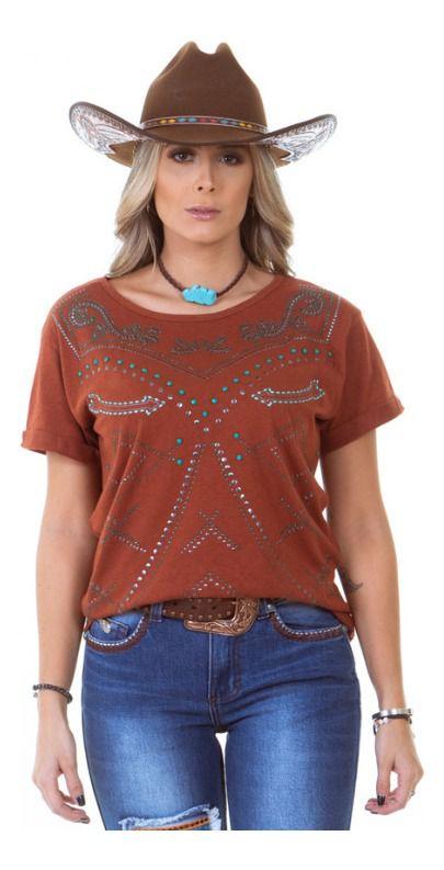 T-Shirt Zenz Western Turquoise ZW0220002