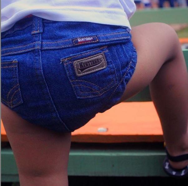 Tapa Fralda Jeans Kenttana Baby