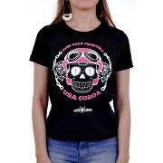 Camiseta Moto Lovers - Nem toda Princesa usa Coroa