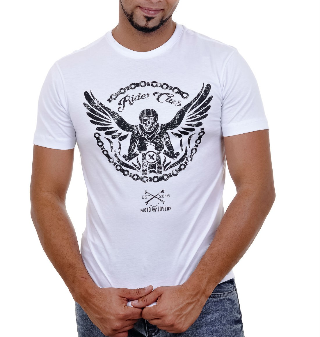 Camiseta Moto Lovers - Correntes que Libertam
