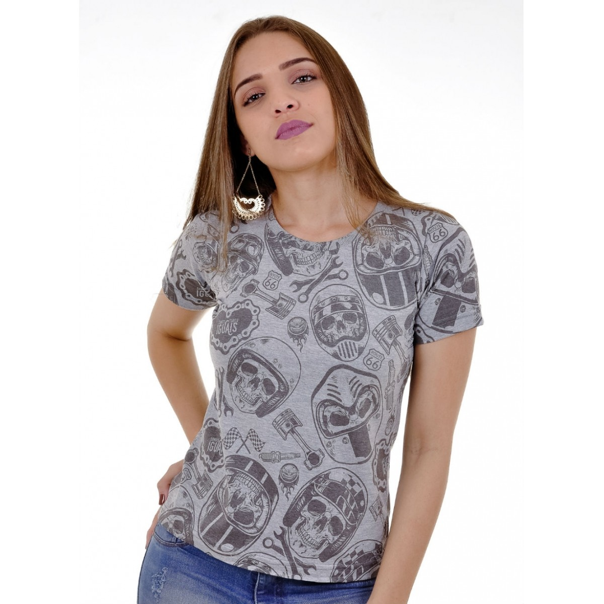 Camiseta Feminina Somos Todos Iguais