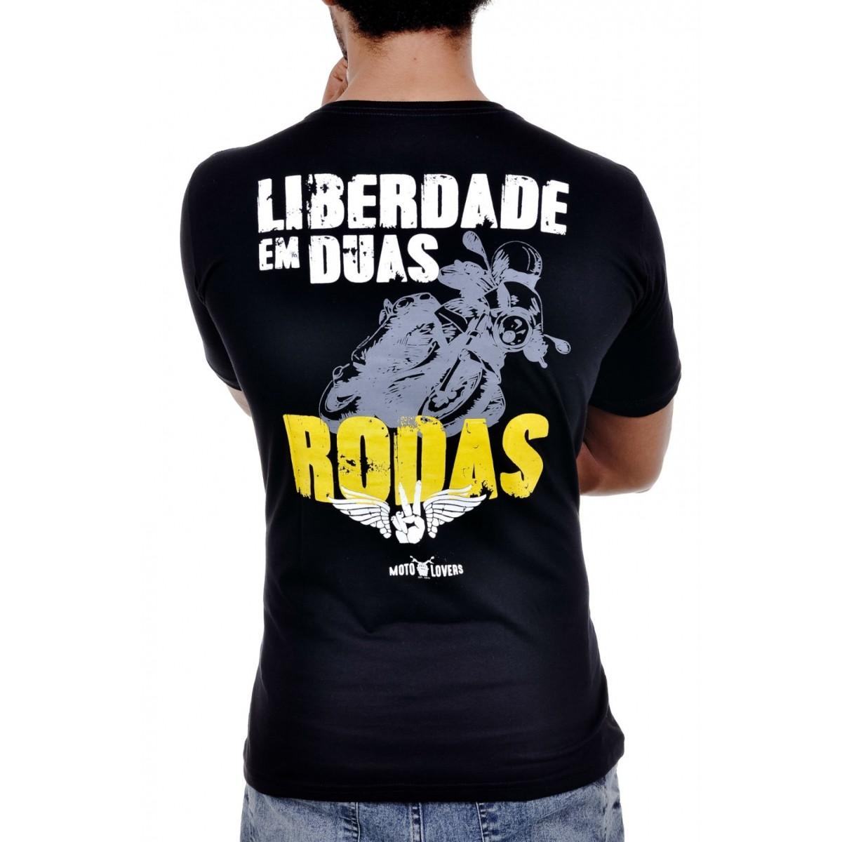 Camiseta Moto Lovers - Liberdade em Duas Rodas