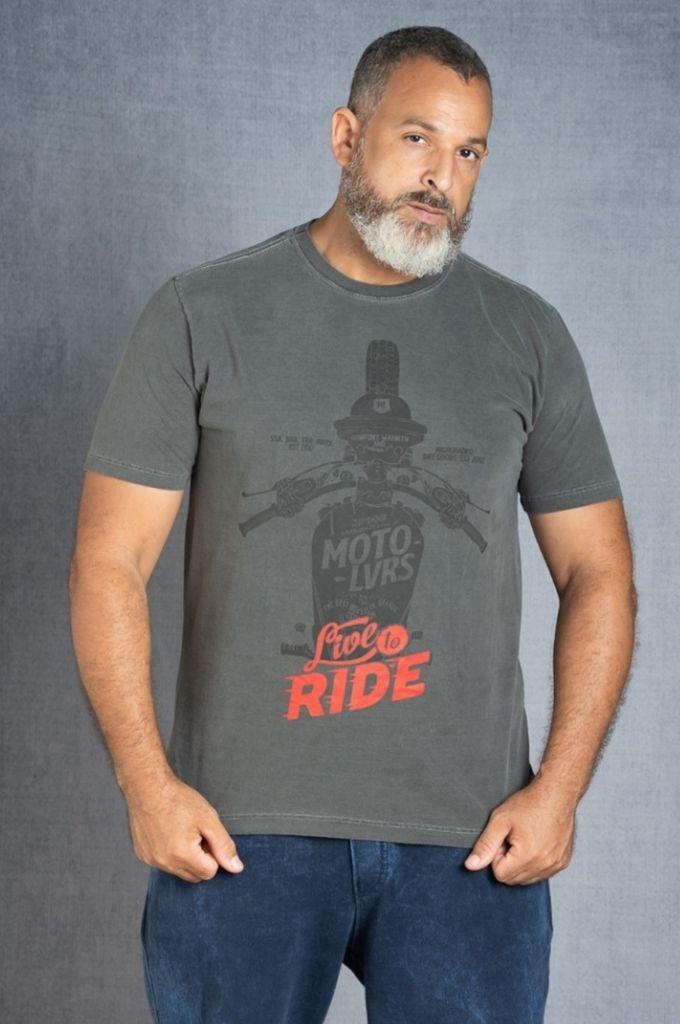 Camiseta Live To Ride